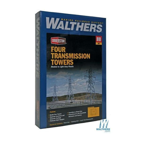 Walthers 933-3121 Electricity Pylons - OO / HO